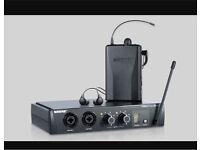 Shure PSM200 receiver + bodypack