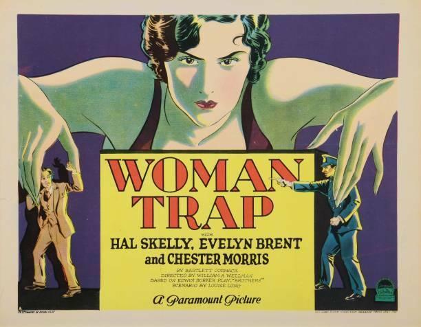 OLD MOVIE PHOTO Woman Trap Lobby Card 1929
