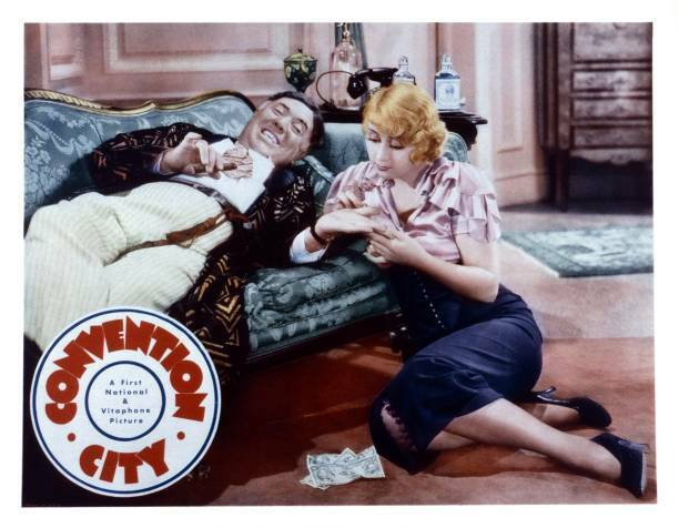 OLD MOVIE PHOTO Convention City Lobby Card Guy Kibbee Joan Blondell 1933