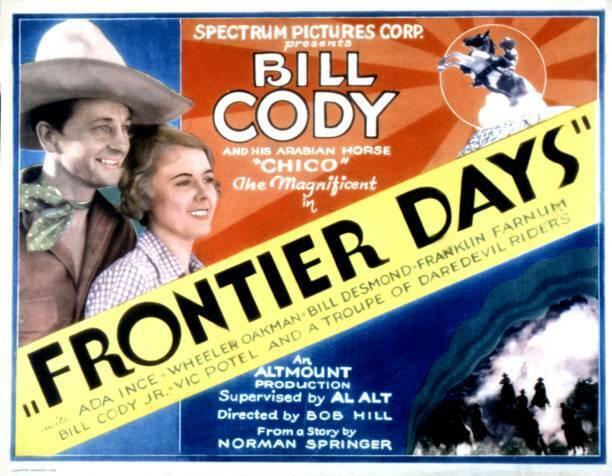 MOVIE PHOTO Frontier Days Lobby Card Bill Cody Ada Ince 1934