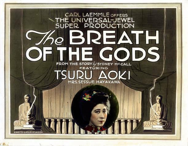 OLD MOVIE PHOTO The Breath Of The Gods Poster Tsuru Aoki 1920