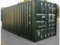20 ft container storage