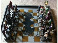 Complete DC Chess Set