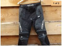 Richa leather race trousers ladies size 12