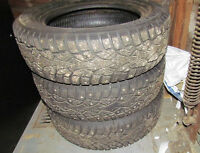 4 - Winter / Studded Tires - P185 / 65 R 15