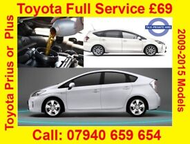 Toyota Prius Plus Full Service 2009-2015 Complete with fitting and installation