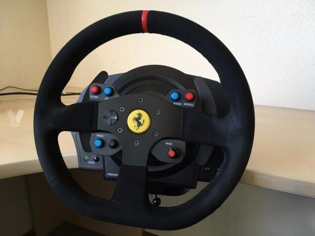thrustmaster t300 servo base ferrari integral racing wheel. Black Bedroom Furniture Sets. Home Design Ideas