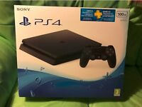Playstion 4 Slim - PS4 500GB - NOT XBOX GAMING PC WII SWITCH Wii U NINTENDO SONY - BRAND NEW SEALED