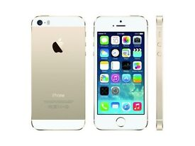 iPhone 5s gold and charger 130. Need gone asap