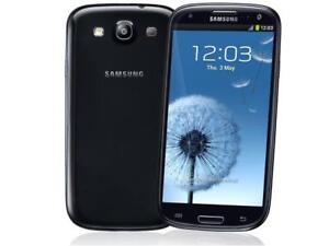 32GB Blue Samsung Galaxy S3 FACTORY Unlocked +ACCESSORIES -$100