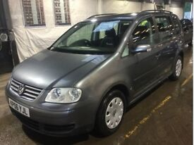2006 VW Touran 1.9 TDI Diesel 7 Seater Cheap Reliable 1 Previous Owner 1 Year MOT 1 Year Warranty