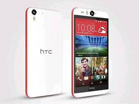 Like New Condition Unlocked Htc Desire Eye 16gb White Red Colour