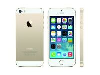iPhone 5S white and gold