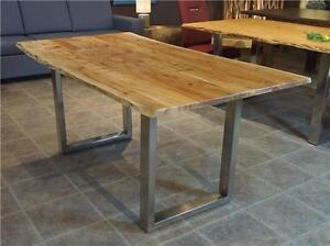 "SHOW SPECIAL FREE SHIPPING: Klondike 67"" live edge acacia table"