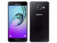 Samsung Galaxy A3 2016 16GB Unlocked Black Very Good Condition