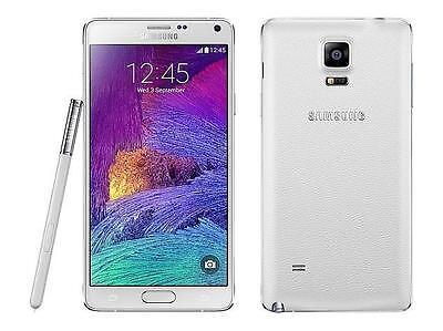 Samsung Galaxy Note 4 SM-N910P- 32GB - Frost White (Sprint) 9/10