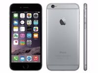 iphone 6 16GB space gray unlock any network