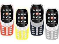 Nokia 3310 3G 2017 Brand New With Warranty Boxed Up