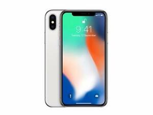 BNIB with Receipt! Apple iPhone X 256GB Silver and Space Grey Unlocked in Pristine Condition!