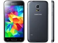 Samsung Galaxy s5 mini. Black. Unlocked, used. Scratches on the screen. £85 fixed price