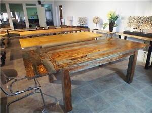 Table de cuisine bois exotique Massif Neuve