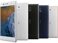 Nokia 3/ Brand new/ Unlocked 16Gb