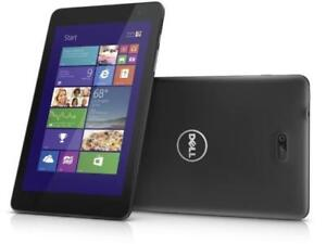 Dell Venue 8 Pro Tablet with Case and bluetooth keybaord