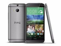 HTC One M8 Gunmetal Gray (Unlocke 16GB Android New Phone sealpack