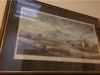 RB 'Bertie' Higgins Framed Mournes Print