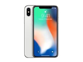 * iPhone X in silver 256GB! BRAND NEW *