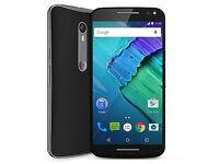 Motorola Moto X Style Black /Unlocked, 32GB with reciept and Address aproval.