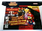 Super Mario RPG SNES Box