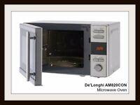 De'Longhi AM820CON > 20L 800W > Solo Microwave > St/Steel.