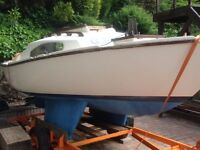 Silhouette MK III Yacht - Trailor, Dinghy & Ouboards