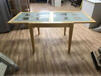 Glass Extendable Table