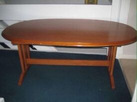 Large Retro G-Plan coffee table.