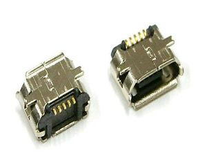 1x Micro USB Type B Female Socket 5-Pin SMD SMT Jack Connector. UK First class .