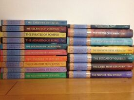 Roman Mysteries books 1-16, children's series by Caroline Lawrence