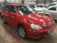 2001 Kia Rio 1.3 LX 5 Door Only 49k Long MOT Cheap Micra Hyundai Amica Picanto Yaris Getz Polo Punto