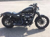 Harley Davidson Sportster 883 iron stage one 2015