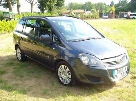 VAUXHALL ZAFIRA 2011 QUICK SALE (REDUCED PRICE)