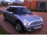 Mini One by BMW with glass panoramic roof ideal for summer