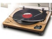 ION Air LP Bluetooth Streaming Turntable - Wood