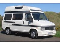 Camper van 4 berth low mileage Talbot express