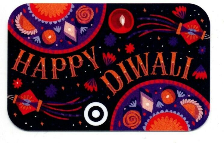 Target Happy Diwali Gift Card No $ Value Collectible #6095