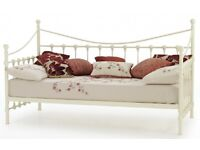 Lovely White Single Daybed