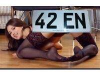 PRIVATE REG (42EN) SWAP CAR BIKE WHY ?