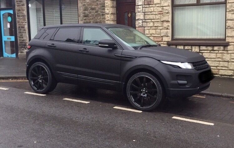 Range Rover Matte Black >> Matt Black Range Rover Evoque 2 2 In Swansea Gumtree