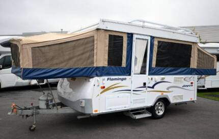 JAYCO FLAMINGO CAMPER TRAILER USED - 6 BERTH - ANNEXE - BED FLYS Wodonga Wodonga Area Preview