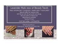 Experienced Nail technician at Beauty Treats **£20 full sets through January**